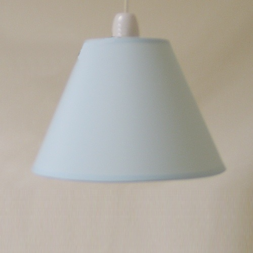 "9"" Ct Light Blue Pvc Coolie Shade Ct Bluecoolie"