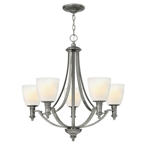 5 Light Multi Arm Chandelier Hk/Truman5