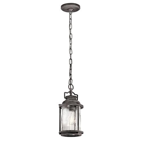 Ashland Bay Weathered Zinc Chain Lantern Kl/Ashlandbay8/S