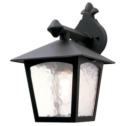 York Outdoor Wall Light Bl2 Black