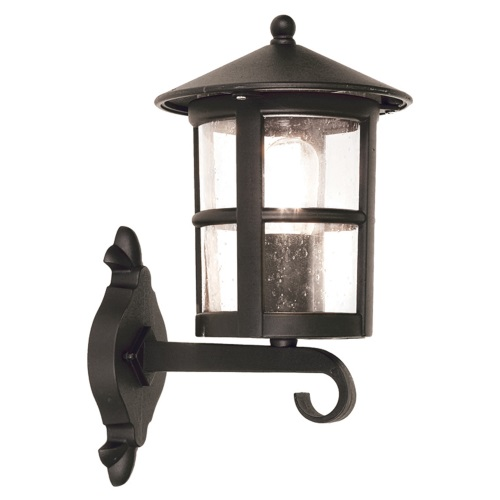 BL22G Hereford Black Outdoor Wall Lantern