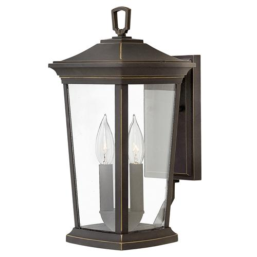 Bromley Outdoor Bronze Wall Lantern Hk/Bromley2/M