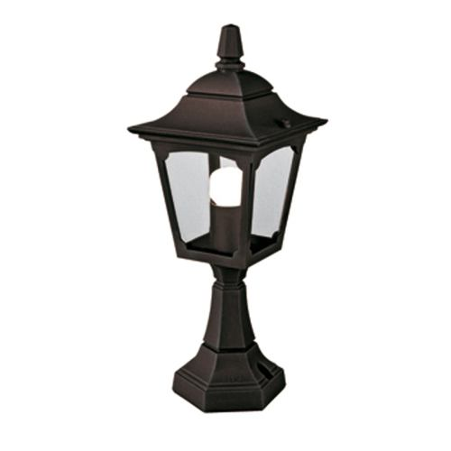 Chapel Black Pedestal Lantern Cpm4 Black