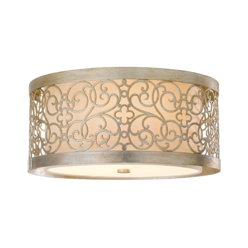 Arabesque Flush Ceiling Light Fe/Arabesque/F