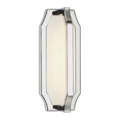 Audrie LED Polished Nickel Wall Light Fe/Audrie/W1