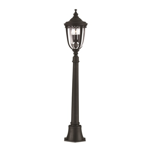 English Bridle Bollard Fe/Eb4/M Blk