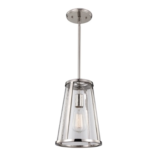 FE/HARROW/P/S Harrow Small Nickel Pendant