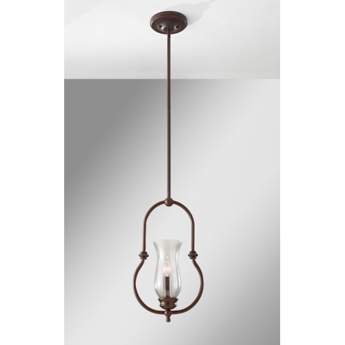 Pendant Light Heritage Bronze Fe/Pickeringl/P