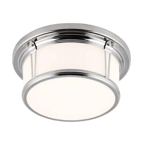 Woodward Flush Bathroom Ceiling Light Fe/Woodward/F/M