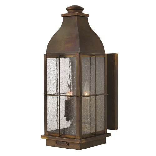 3 Light Wall Lantern Hk/Bingham/L