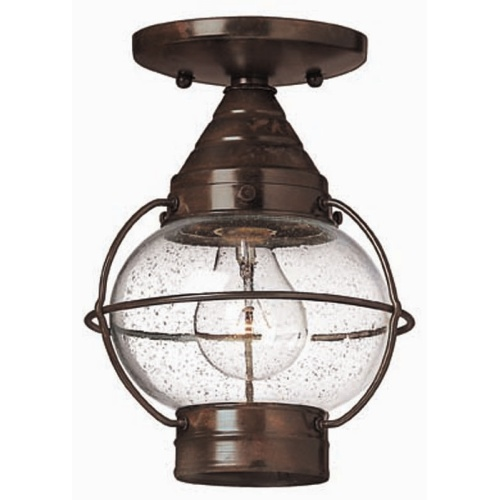 HK/CAPECOD8/L Cape Cod Globe Outdoor Flush/Pendant Light