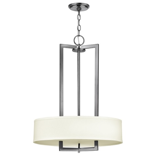 Hampton 3 Light Pendant Hk/Hampton/P/B