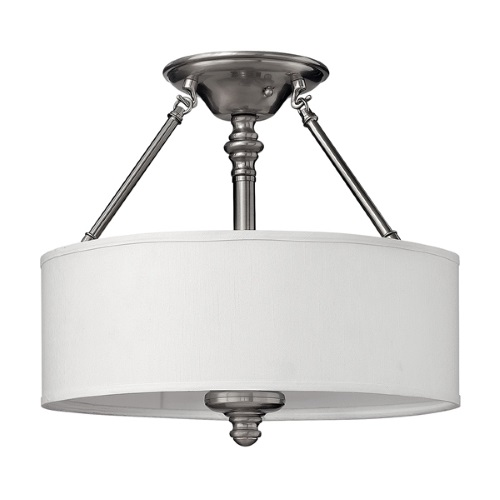 Sussex Triple Semi-Flush Ceiling Light Hk/Sussex/Sf