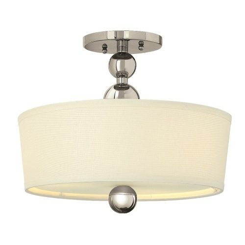 Semi Flush Ceiling Light Hk/Zelda/Sf Pn