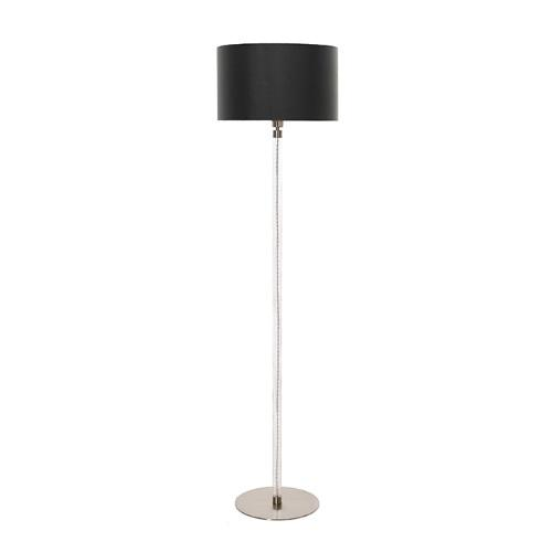 Satin Nickel Floor Lamp HQ/FLOW FL + HQ/CY40-2015