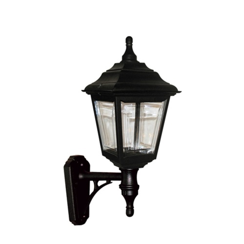 Black Outdoor Lantern Kerry Wall