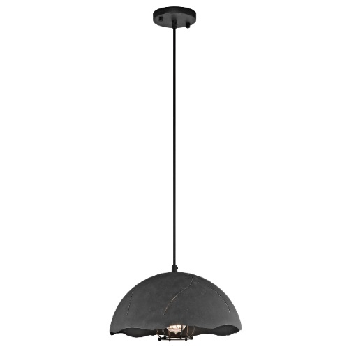Fracture Graphite Small Pendant Light Kl/Fracture/P/S