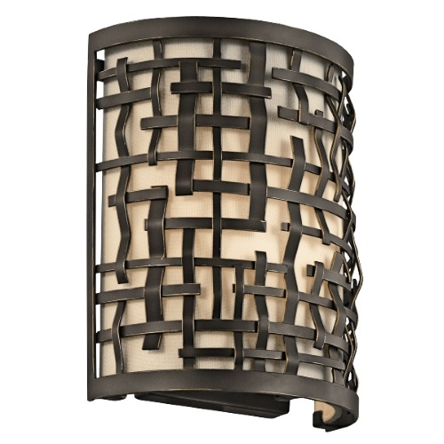 KL/LOOM1 Loom Olde Bronze Wall Light