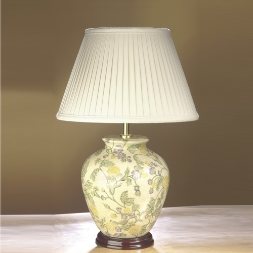 Table Lamp Lui/Yellow Flo Ls1032