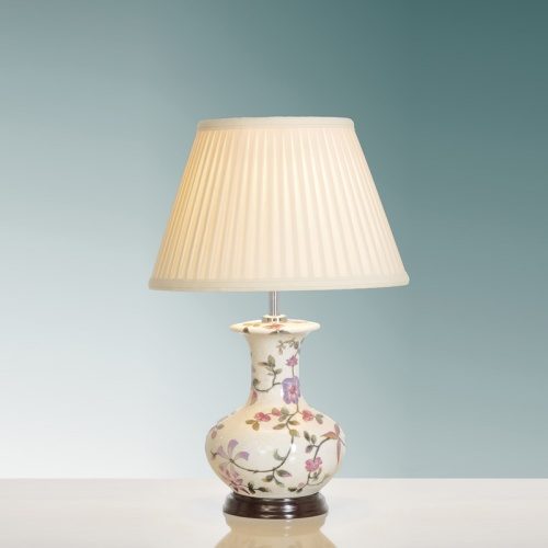 LUI/PINK BLOSSOM LS1032 Table Lamp