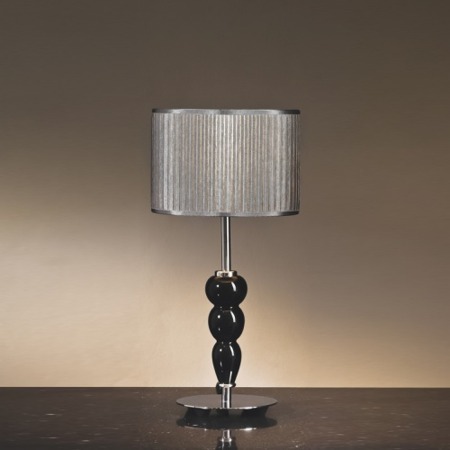 Black And Chrome Table Lamp Lui/Roberto Ls1115
