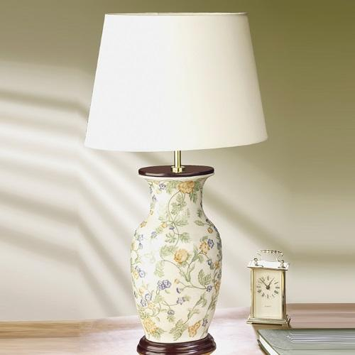 LUI/FORGET-ME + LUILS1086 Porcelian Table Lamp