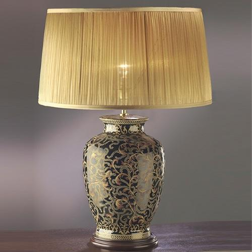 Morris Large Gold And Black Table Lamp