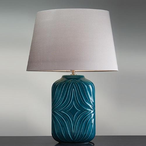 LUI/MUSE TURQSE + LUI/LS1125 Turquoise Table Lamp