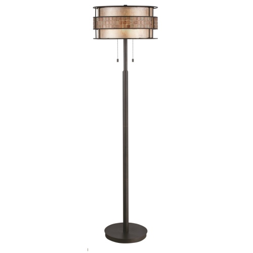 Double Light Floor Lamp Qz/Laguna/Fl/A
