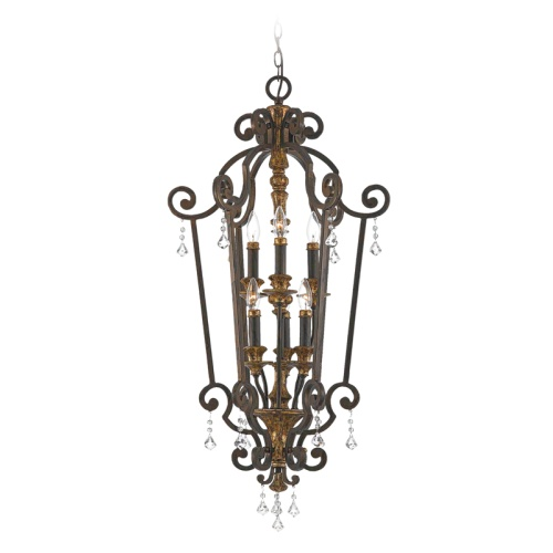 QZ/MARQUETTE6/B 6 Light Pendant