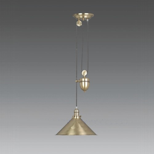Provence Antique Brass Pendant Pv/P Agb