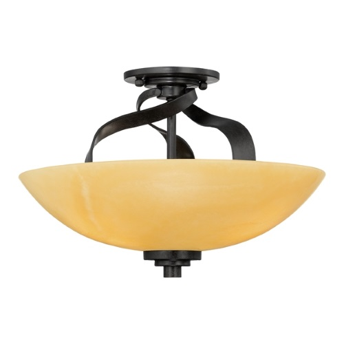 Kyle Semi-Flush Ceiling Light Qz/Kyle/Sf