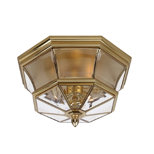 QZ/NEWBURY/F Newbury Flush Bathroom Ceiling Light