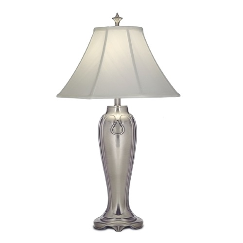 SF/CHARLESTON Charleston Antique Nickel Table Lamp