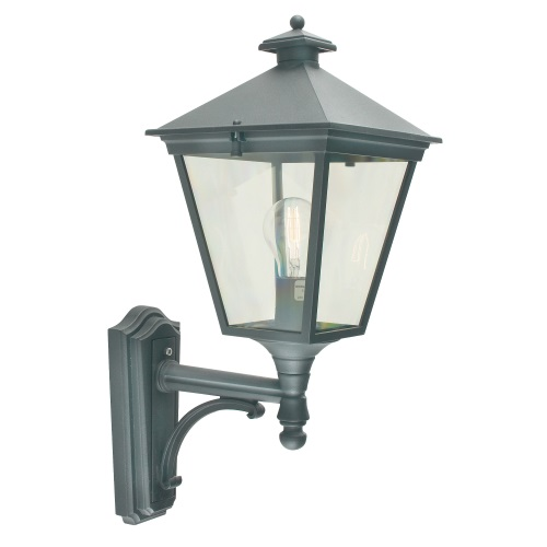 Turin Outdoor Wall Light T1 Black