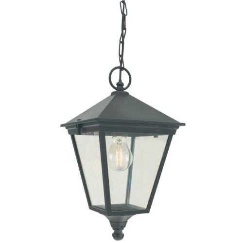 T8 Black Turin Outdoor Lantern