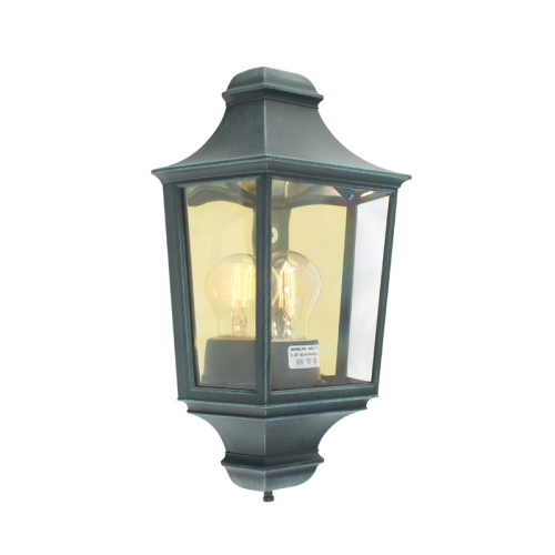 Verdigris Turin Outdoor Wall Light T9 Verdi