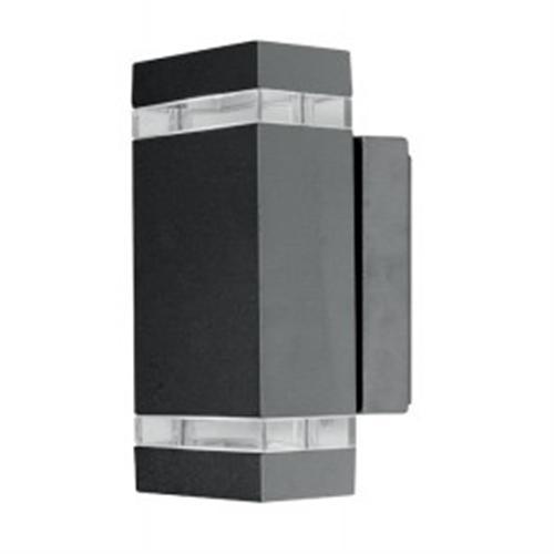 Focus Graphite LED Exterior Wall Light Jannik Led2 | The Lighting ...