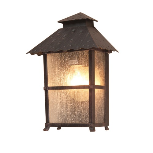 WB7 Rustic Outdoor Wall Lantern
