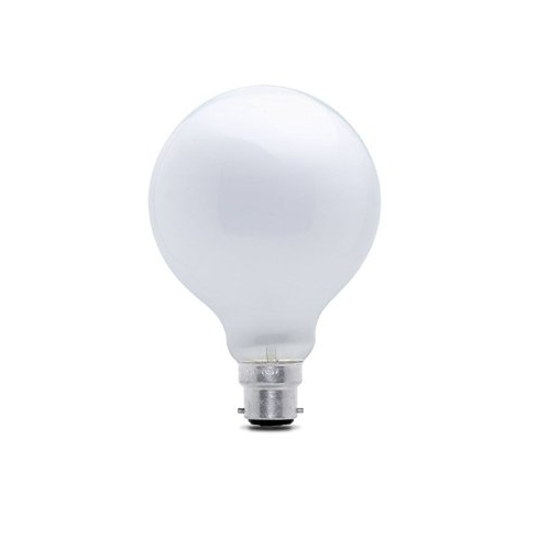 Decor Incandescent Bulb 60W BC Opal 95mm