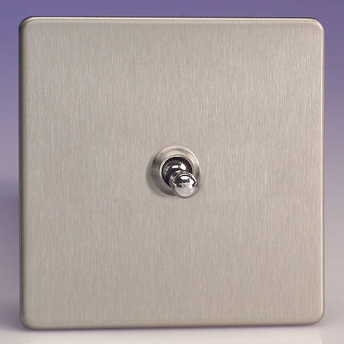 Toggle Switch Satin Chrome XDST1S