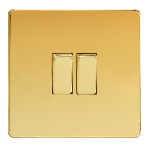 XDV2S Double Polished Brass Switch