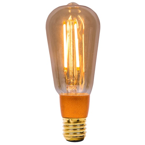 LED 126mm Vintage Squirrel Cage Lamp 01469