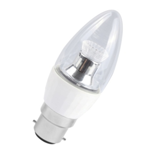 Cool White BC 4W LED Candle Lamp 05075