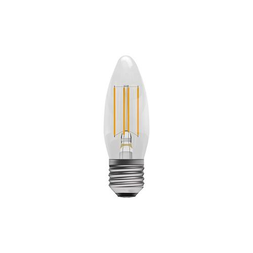 Candle LED E27 Full Glass Filament 4W 05024