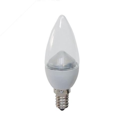 Cool White Clear 4W LED SES Candle 05077