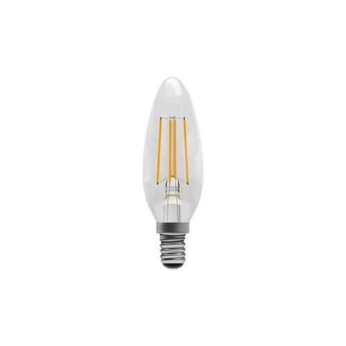 Cool White LED Ses/E14 Filament Candle Lamp 60112