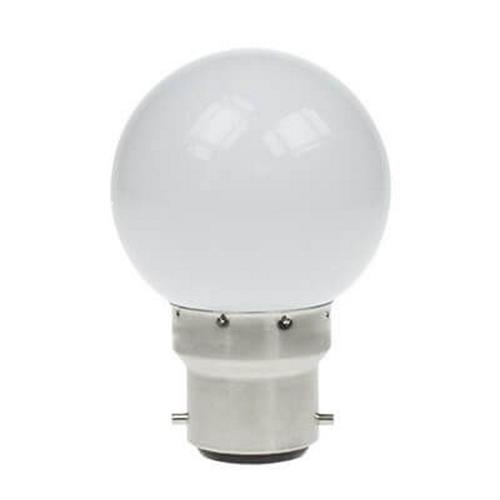 Golf Ball LED BC 4w Frosted Lamp 60103