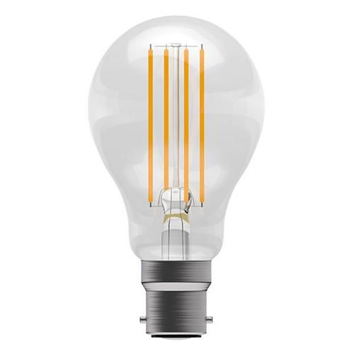 LED COOL WHITE BC/B22 GLS BULB 6 WATTS 60047