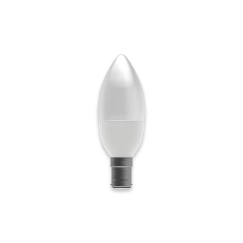 Led Sbc/B15 7W Frosted Candle Lamp 05839